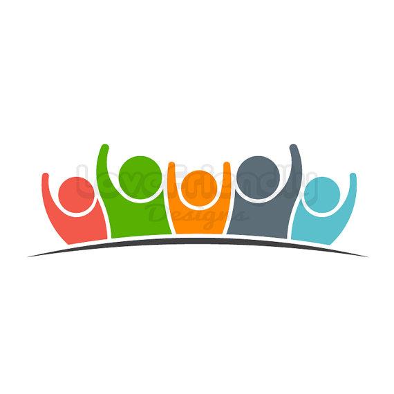 570x570 Custom Logo Design Premade Logo Group Of People Teamwork