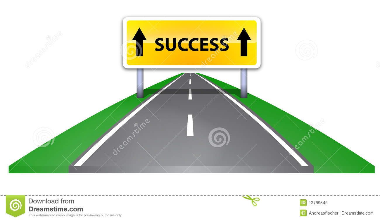 1300x756 Path Success Clipart Road Success Royalty Free, Map