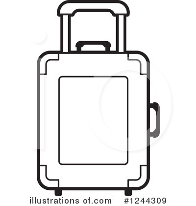 400x420 Luggage Clipart