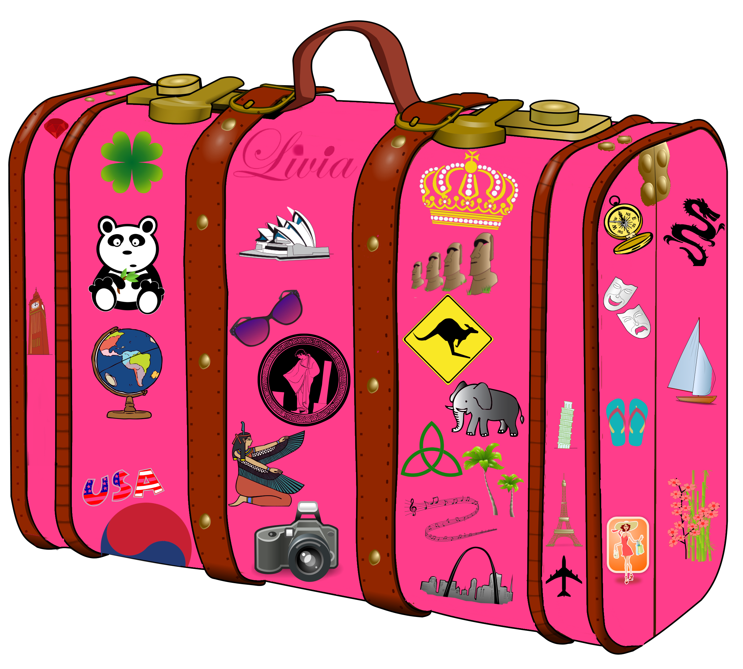 2400x2160 My Suitcase Suitcase