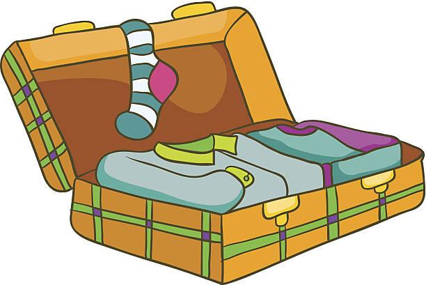 612x409 Suitcase Clipart Clothes