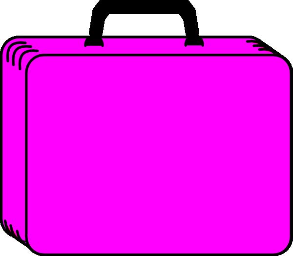 600x525 Suitcase Clipart Pink Suitcase