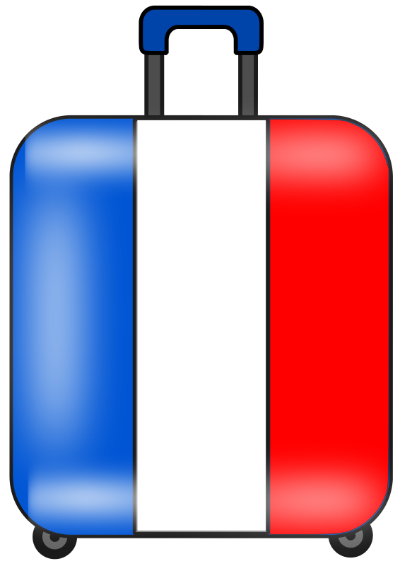 566x800 Suitcase Luggage Clipart 2