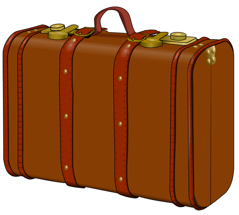 800x720 Suitcase Clip Art Many Interesting Cliparts