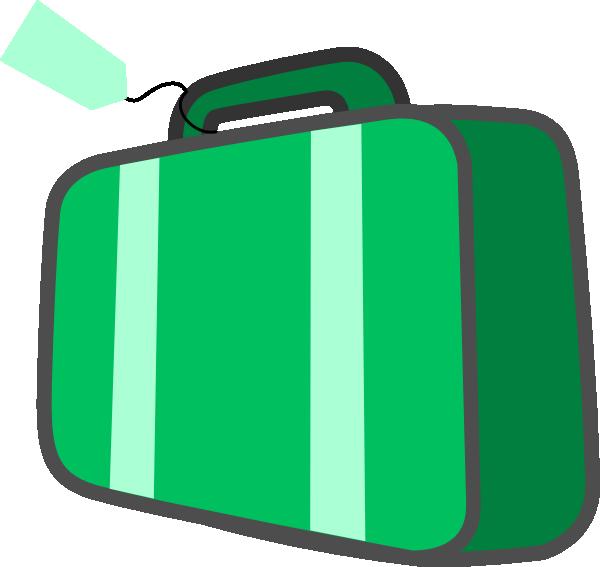 600x567 Suitcase Clipart