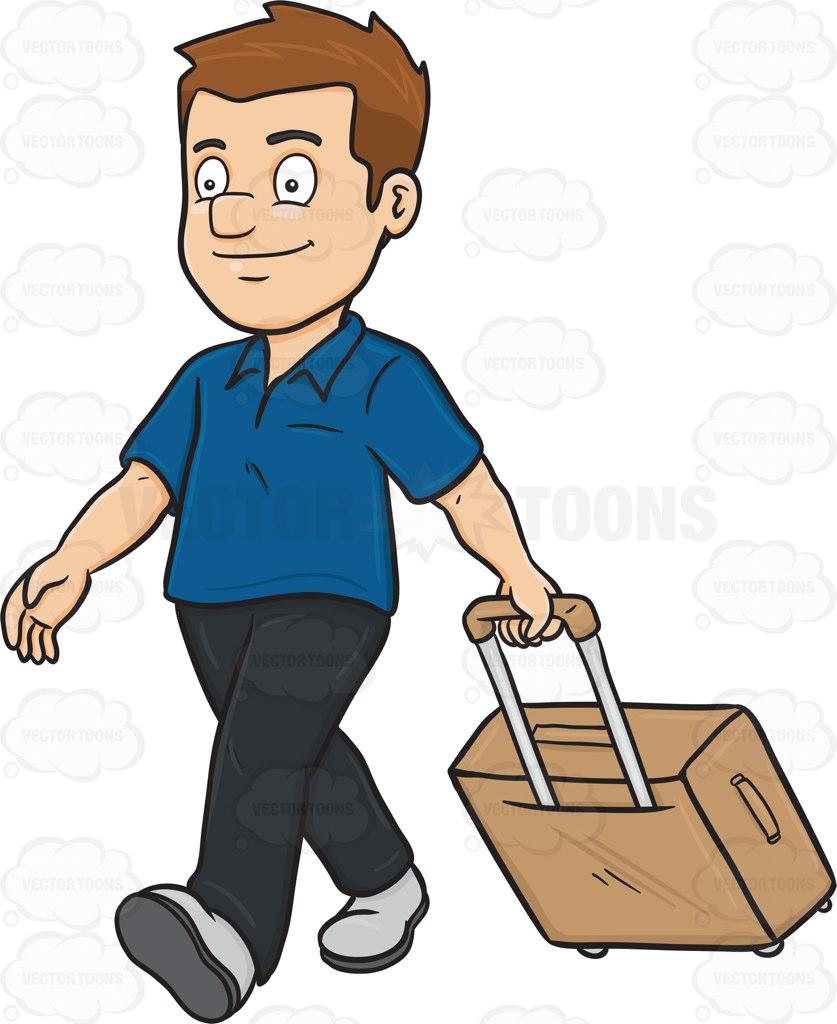 837x1024 Suitcase Clipart Tourist