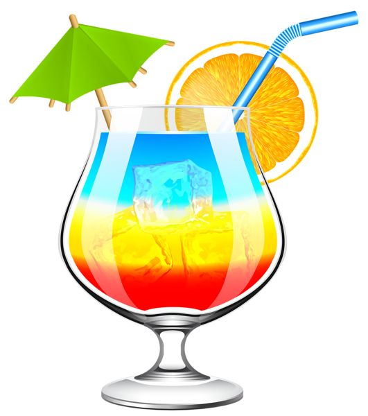 531x600 Background Clipart Cocktail