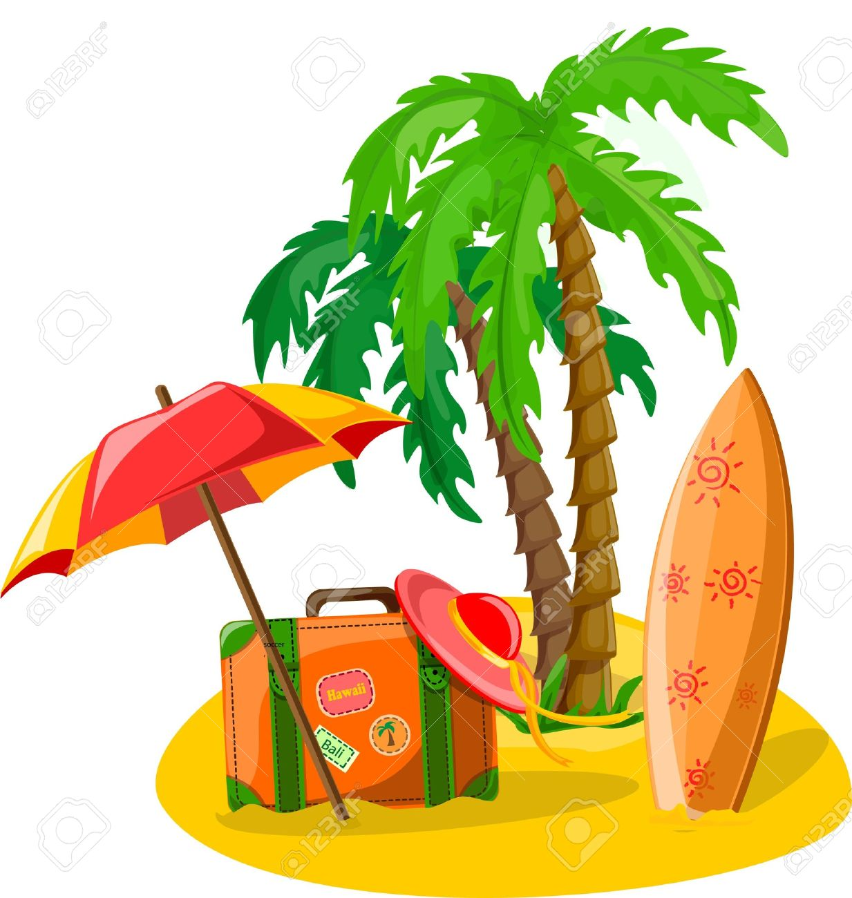 1233x1300 Summer Relaxation Clip Art Cliparts