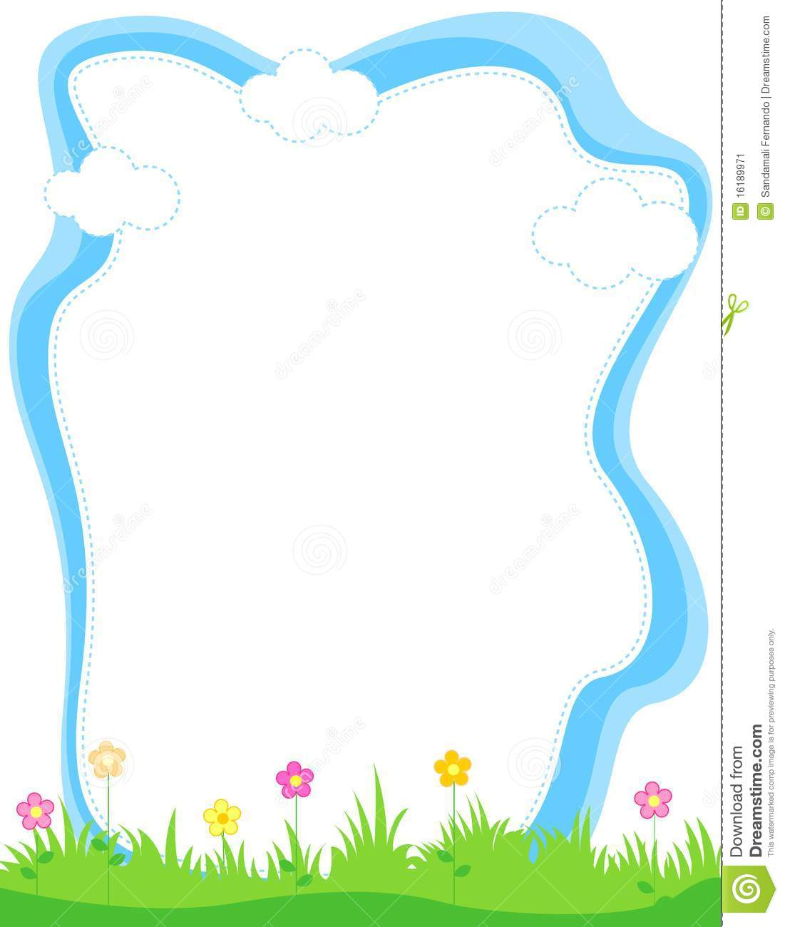 Summer border. Clipart free download best