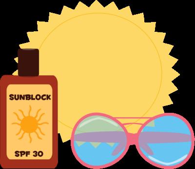 400x346 Summer Sun Clip Art