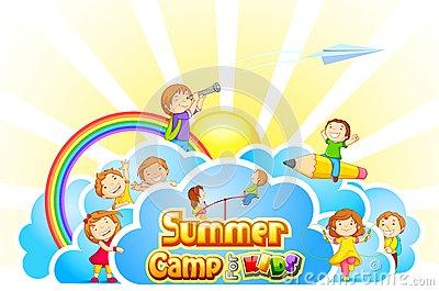 400x265 Kids Summer Camp Clipart Clipart Panda