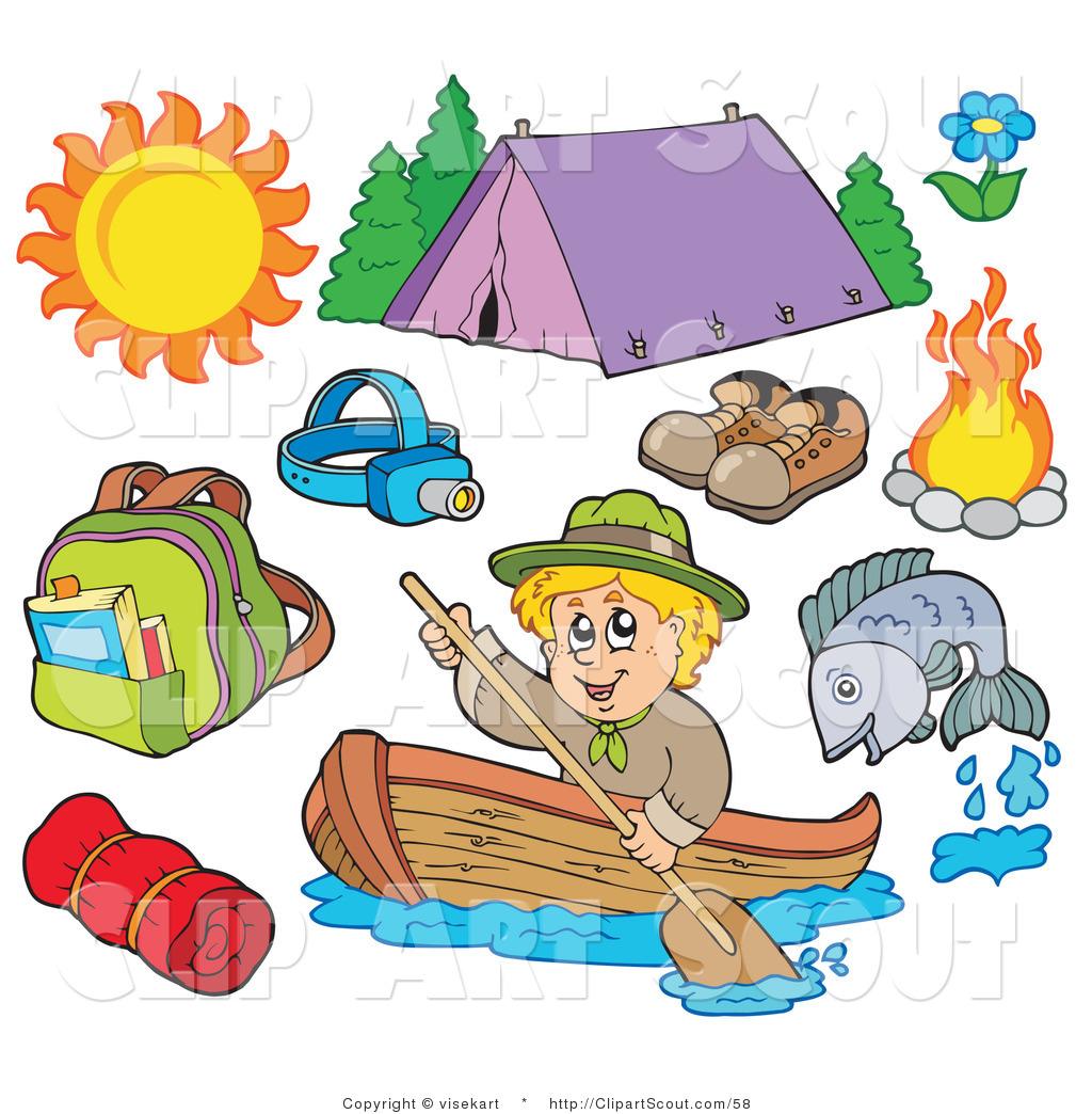 1024x1044 Summer Camp Cabin Border Clipart