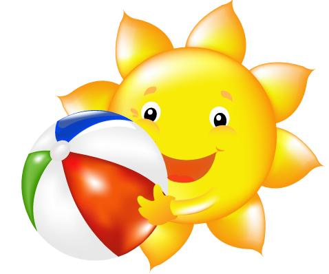 478x398 Sunshine clipart summer camp
