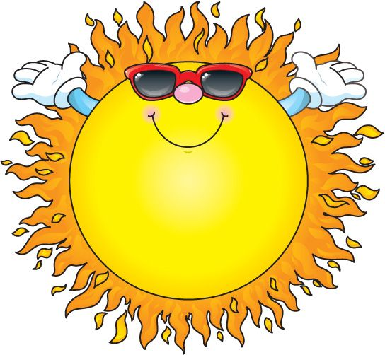 544x502 Summer Clipart Cartoon