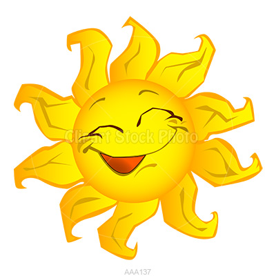 400x400 Cartoon Sun Clipart