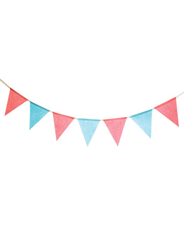360x450 Summer clipart flag