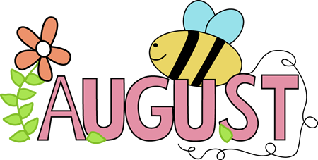 450x227 August border clipart collection
