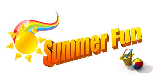 515x268 Image of Clip Art Summer Fun