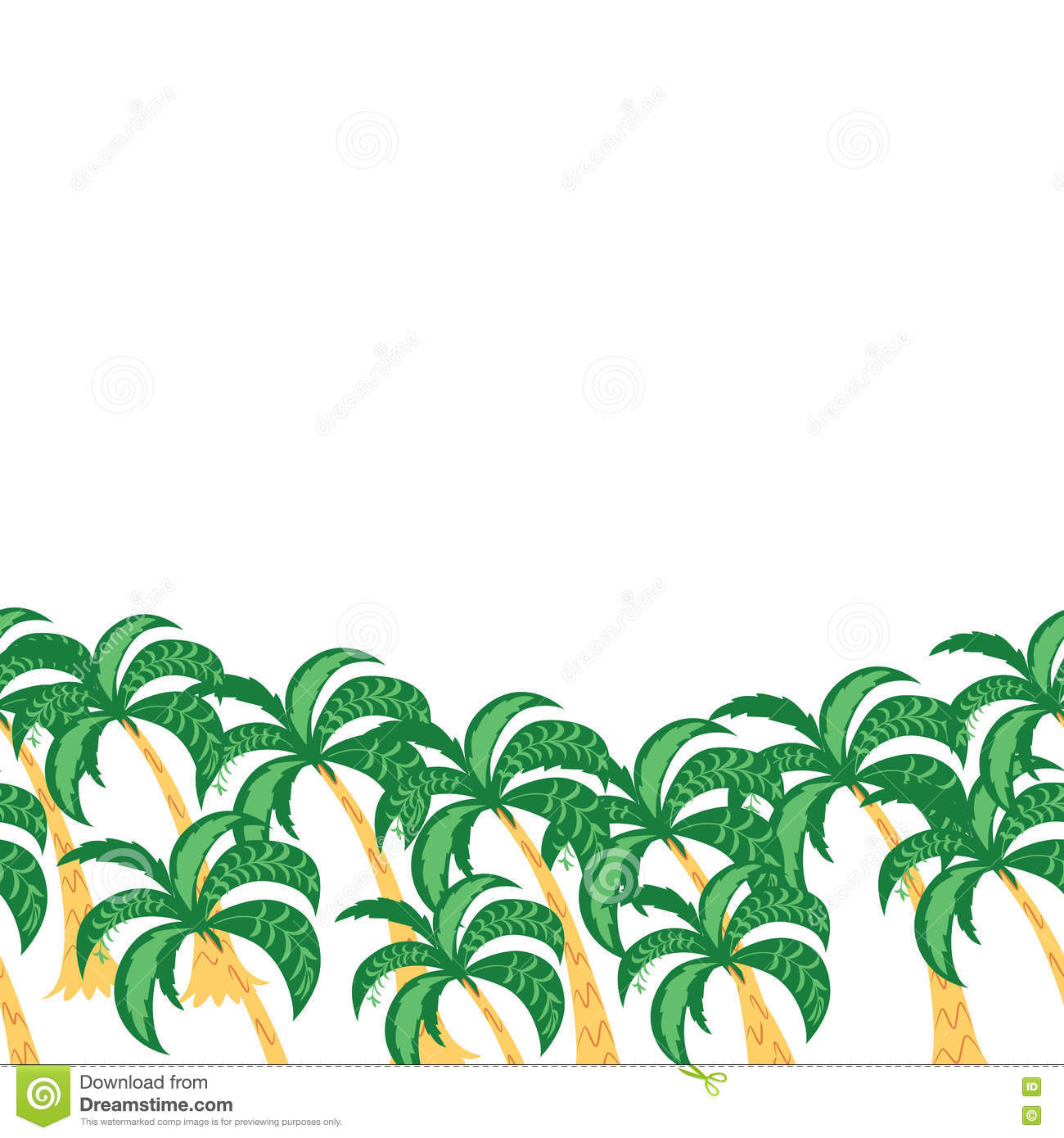 1300x1390 Palm Tree Clip Art Border birthday cake Ideas