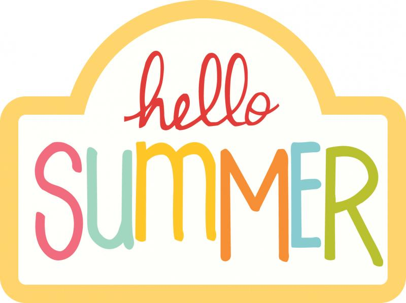 800x597 Hello! Clipart Summer