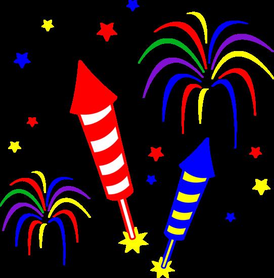 542x550 Fireworks Clip Art Free Many Interesting Cliparts