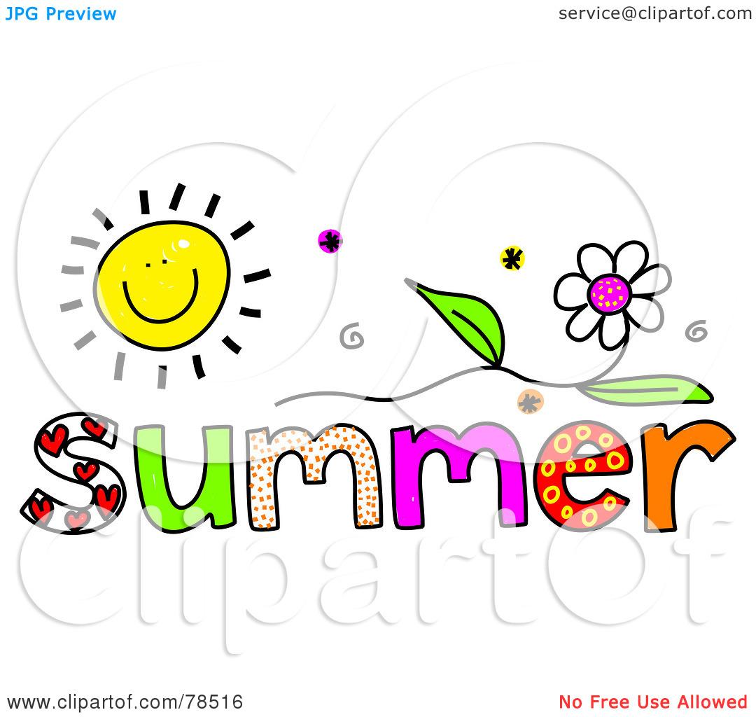 1080x1024 Free Summer Clipart