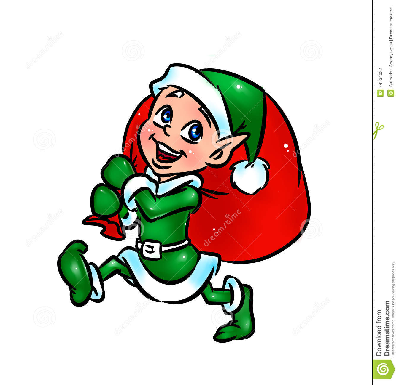 1345x1300 Elfen Clipart Santa His Elf