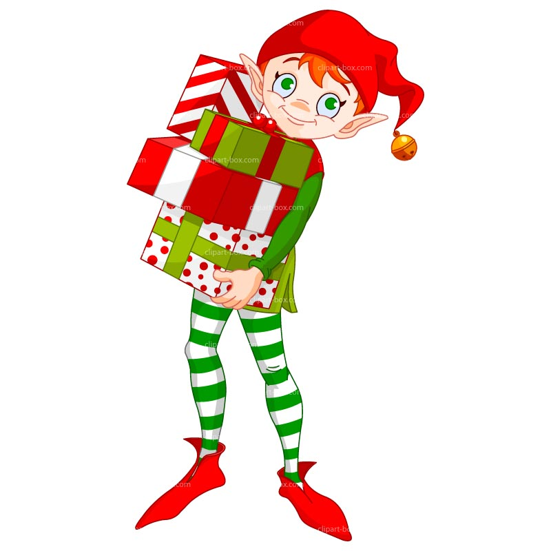 800x800 Moving Clipart Elf