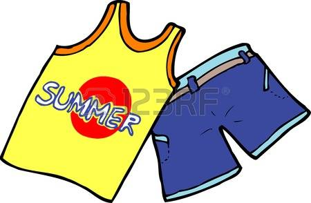 450x294 Shirt Clipart Summer Wear