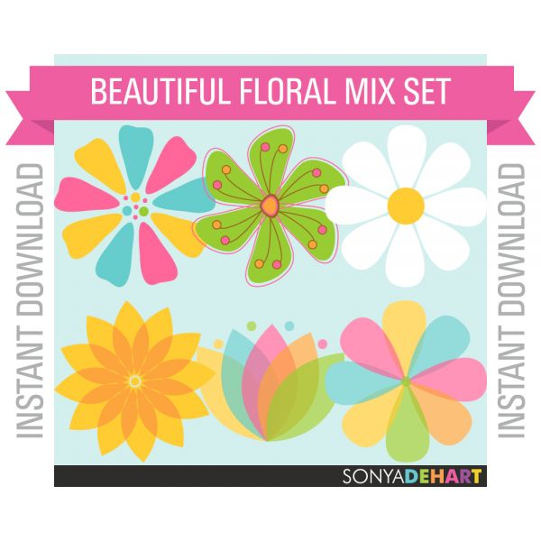 Summer Flower Clipart