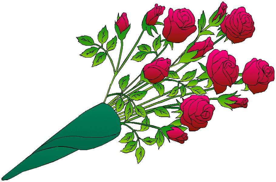 910x600 Flower Bouquet A Bouquet Of Summer Flowers Clip Art