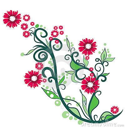 400x411 Flower Summer Clipart