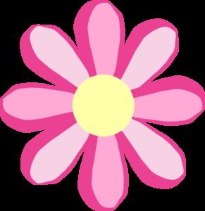 291x300 Pink Flower Clip Art