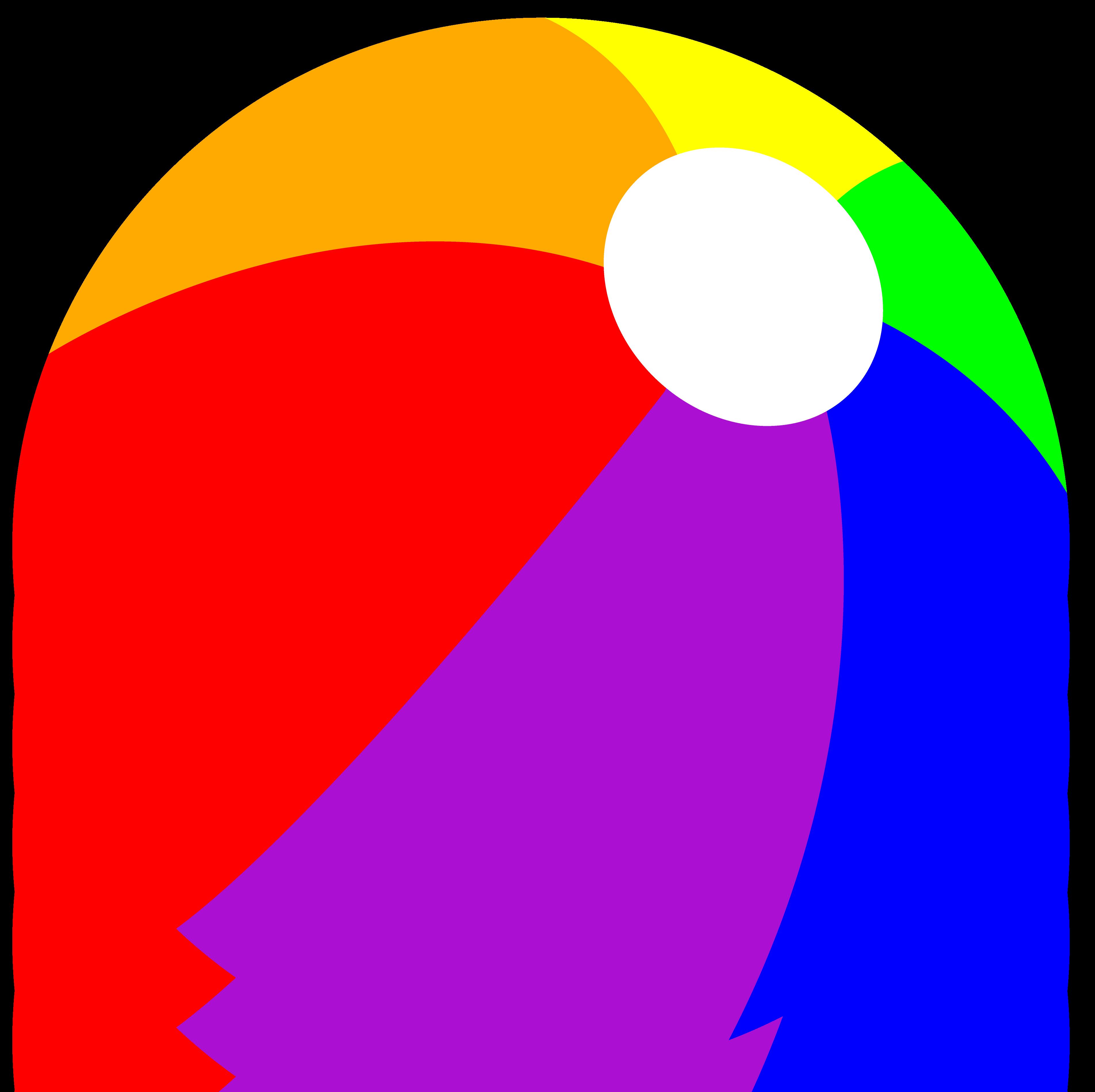 3809x3800 Rainbow Summer Beach Ball