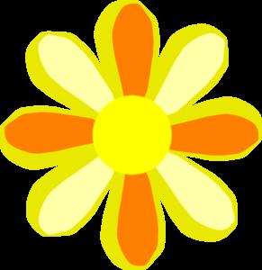 291x300 Summer Flower Clip Art