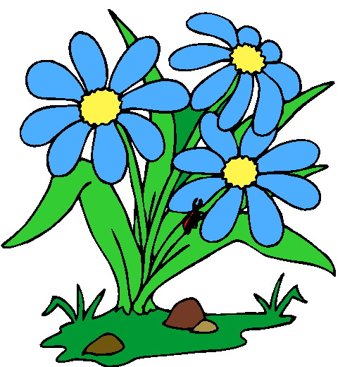 490x520 Summer flowers clipart free images 2