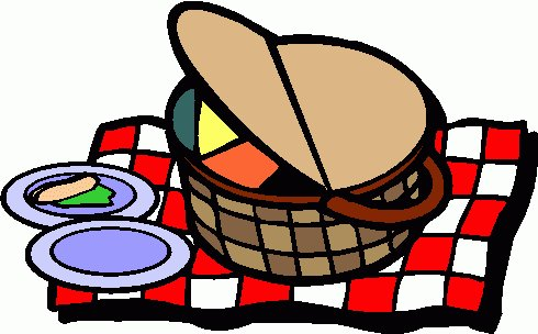 490x304 Nice Free Picnic Clipart Summer Picnic Clip Art Clipart Best