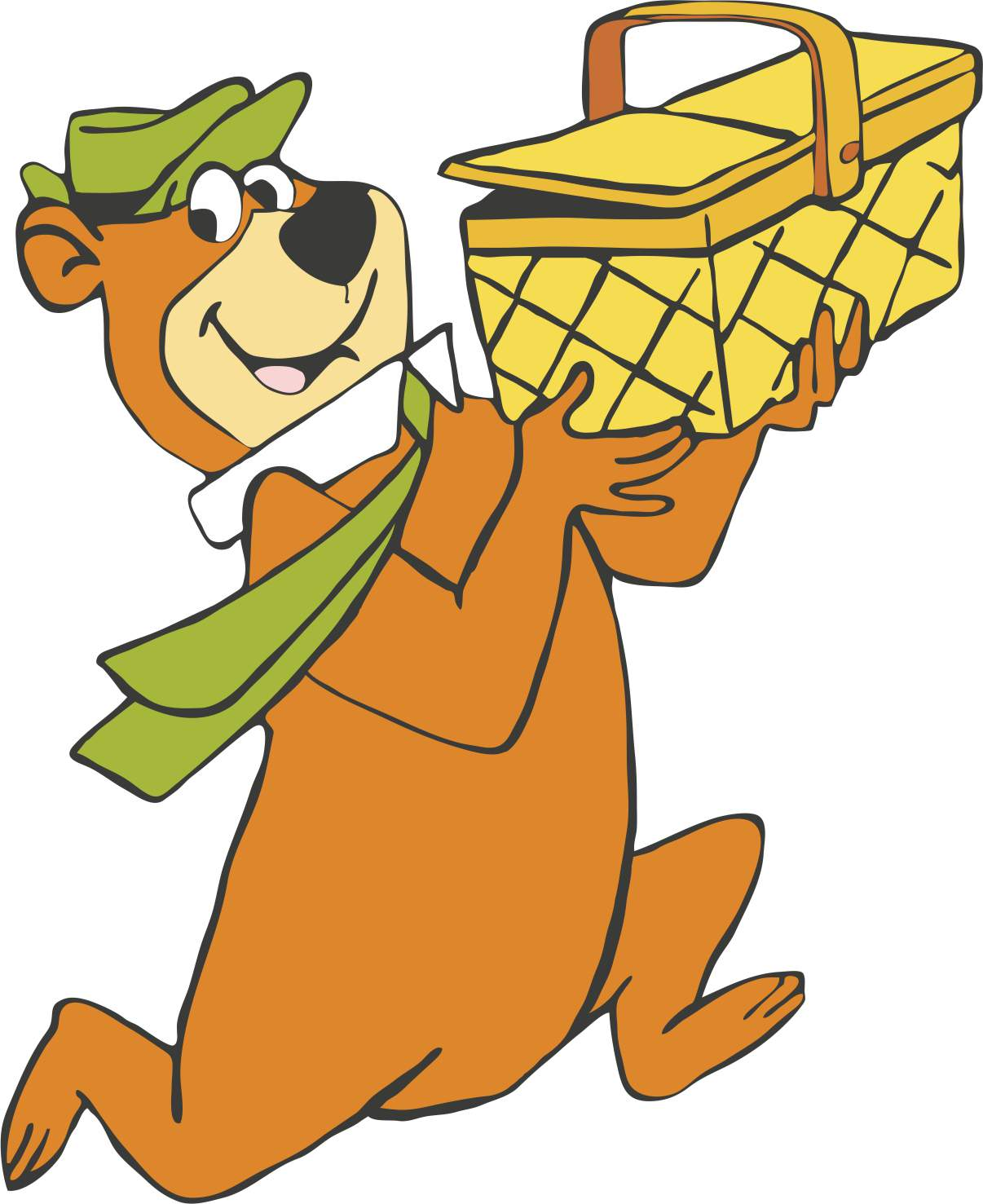 1206x1477 Yogi Bear And His Picnic Basket! Child 60s, Teen