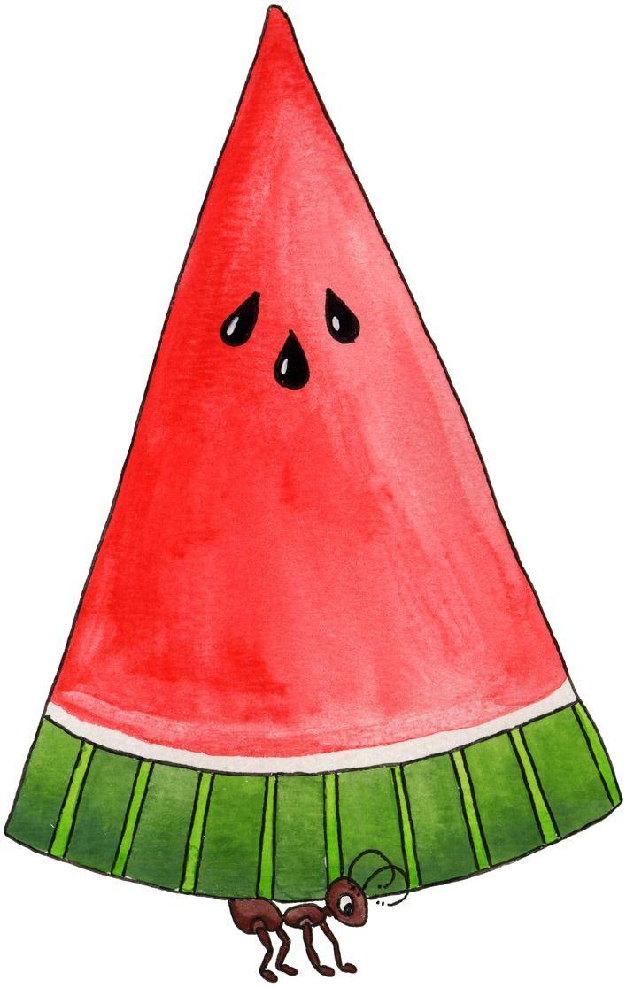 707x1116 Watermelon Picnic Clipart, Free Watermelon Picnic Clipart