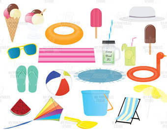 340x270 Popsicle Clipart Set Etsy