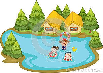 400x282 Summer Scene Clipart 101 Clip Art