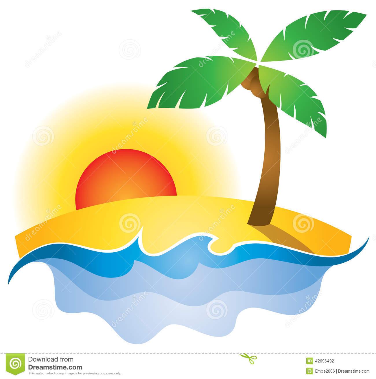 1300x1310 Sunset Clipart Summer