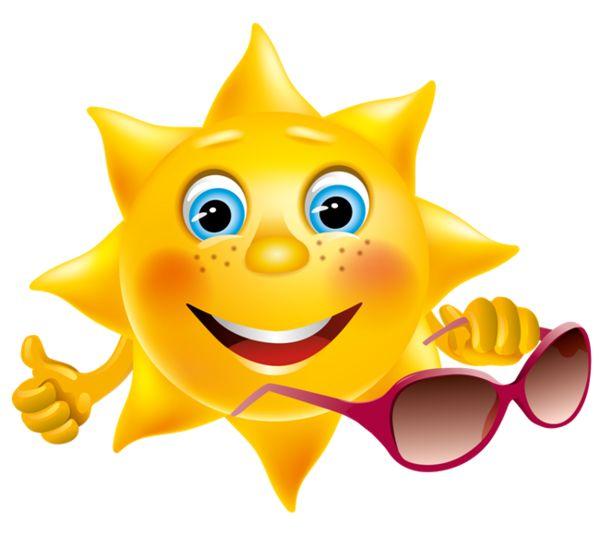 Summer Sun Clipart
