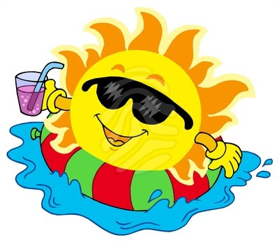 Summer Sun Clipart | Free download on ClipArtMag