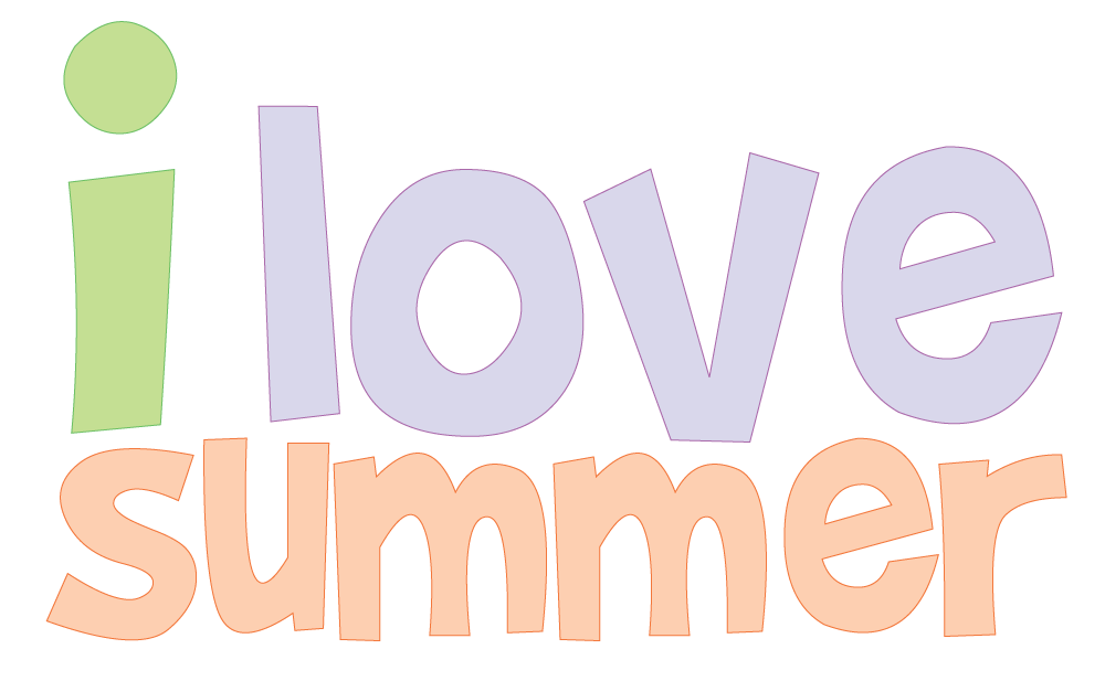 1000x617 Free Summer Clipart To Use For Party Decor, Crafts, School
