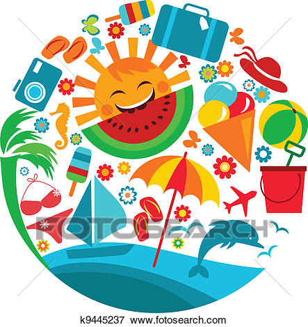 443x470 Vacation Clipart Images Summer Vacation Clipart And Illustration
