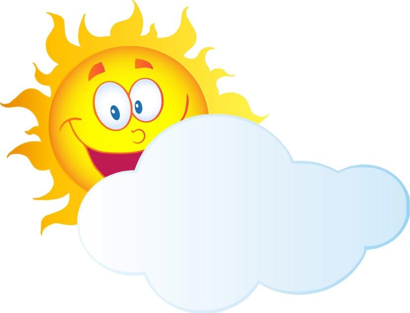 830x634 Clouds Clipart Sun Cloud