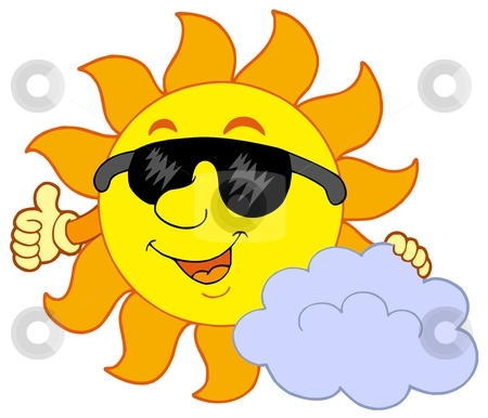 450x386 Sun And Clouds Clipart