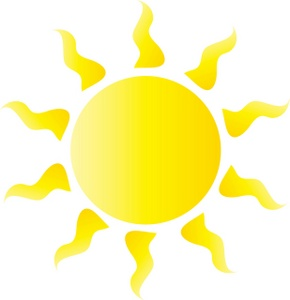 290x300 Sun Clipart Image