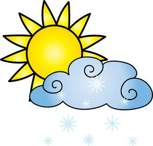 300x286 Sun With Cloud Clipart